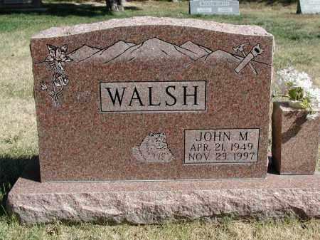 WALSH, JOHN M. - El Paso County, Colorado | JOHN M. WALSH - Colorado Gravestone Photos