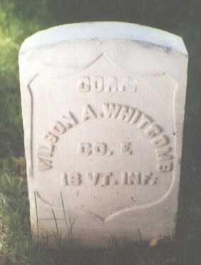 WHITCOMB, WILSON A. - El Paso County, Colorado | WILSON A. WHITCOMB - Colorado Gravestone Photos