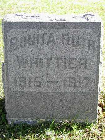 WHITTIER, BONITA R. - El Paso County, Colorado | BONITA R. WHITTIER - Colorado Gravestone Photos