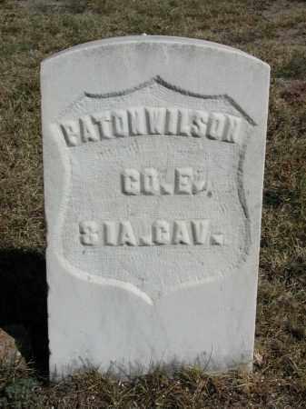 WILSON, BATON - El Paso County, Colorado | BATON WILSON - Colorado Gravestone Photos