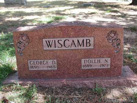 WISCAMB, GEORGE D. - El Paso County, Colorado | GEORGE D. WISCAMB - Colorado Gravestone Photos