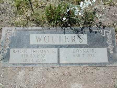 WOLTERS, DONNA - El Paso County, Colorado | DONNA WOLTERS - Colorado Gravestone Photos