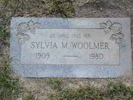 WOOLMER, SYLVIA - El Paso County, Colorado   SYLVIA WOOLMER - Colorado Gravestone Photos