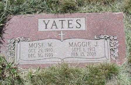 YATES, MAGGIE - El Paso County, Colorado | MAGGIE YATES - Colorado Gravestone Photos