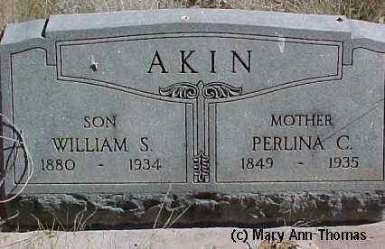 AKIN, PERLINA C. - Fremont County, Colorado | PERLINA C. AKIN - Colorado Gravestone Photos