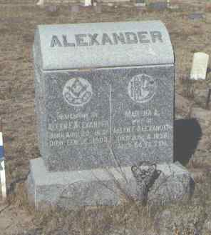 PIERCE ALEXANDER, MARTHA A. - Fremont County, Colorado | MARTHA A. PIERCE ALEXANDER - Colorado Gravestone Photos