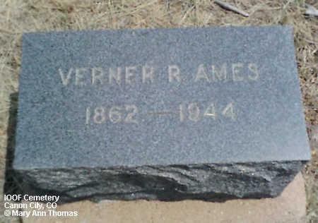 AMES, VERNER R. - Fremont County, Colorado | VERNER R. AMES - Colorado Gravestone Photos