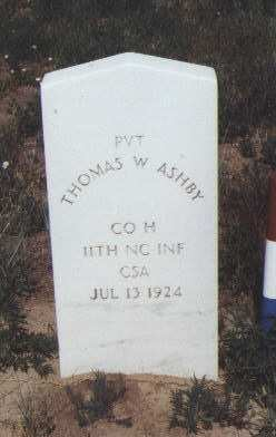 ASHBY, THOMAS W. - Fremont County, Colorado | THOMAS W. ASHBY - Colorado Gravestone Photos
