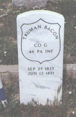 BACON, TRUMAN - Fremont County, Colorado | TRUMAN BACON - Colorado Gravestone Photos