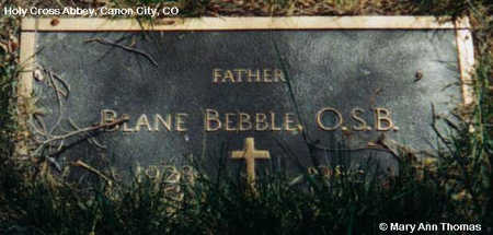 BEBBLE, BLANE - Fremont County, Colorado | BLANE BEBBLE - Colorado Gravestone Photos