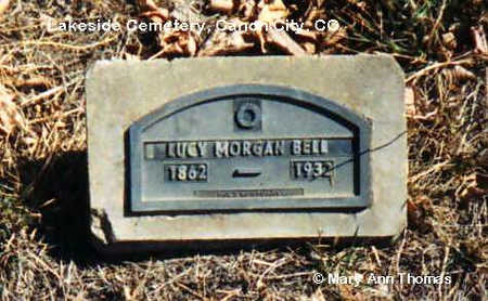 BELL, LUCY - Fremont County, Colorado | LUCY BELL - Colorado Gravestone Photos