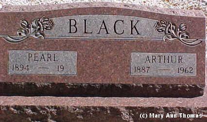 BLACK, PEARL - Fremont County, Colorado   PEARL BLACK - Colorado Gravestone Photos