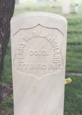 BLANCHARD, PERRY W. - Fremont County, Colorado | PERRY W. BLANCHARD - Colorado Gravestone Photos