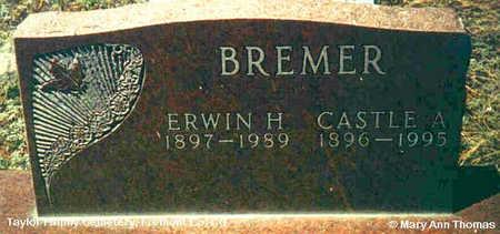 BREMER, ERWIN H. - Fremont County, Colorado | ERWIN H. BREMER - Colorado Gravestone Photos