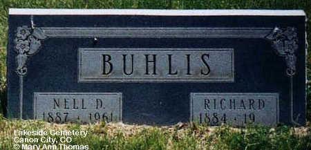 BUHLIS, NELL D. - Fremont County, Colorado | NELL D. BUHLIS - Colorado Gravestone Photos
