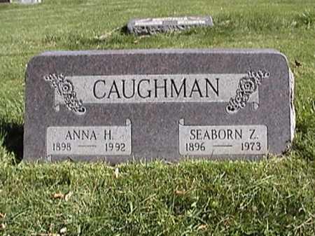 CAUGHMAN, ANNA - Fremont County, Colorado | ANNA CAUGHMAN - Colorado Gravestone Photos