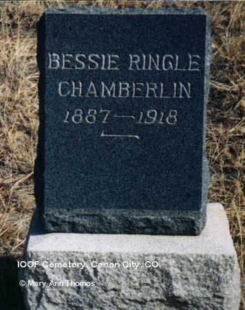 CHAMBERLIN, BESSIE - Fremont County, Colorado | BESSIE CHAMBERLIN - Colorado Gravestone Photos