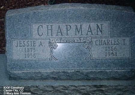 CHAPMAN, CHARLES T. - Fremont County, Colorado | CHARLES T. CHAPMAN - Colorado Gravestone Photos