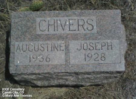 CHIVERS, JOSEPH - Fremont County, Colorado | JOSEPH CHIVERS - Colorado Gravestone Photos