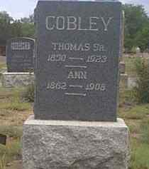 COBLEY, ANNIE - Fremont County, Colorado | ANNIE COBLEY - Colorado Gravestone Photos