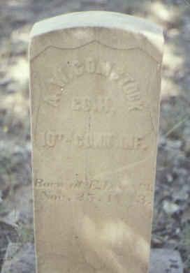 COMSTOCK, A. W. - Fremont County, Colorado   A. W. COMSTOCK - Colorado Gravestone Photos