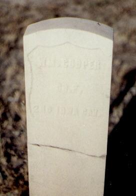 COOPER, WM. - Fremont County, Colorado | WM. COOPER - Colorado Gravestone Photos