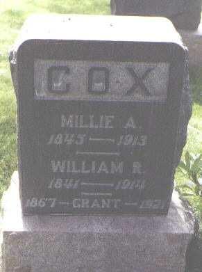 COX, GRANT - Fremont County, Colorado | GRANT COX - Colorado Gravestone Photos