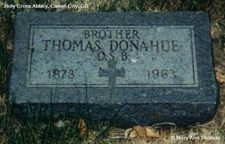 DONAHUE, THOMAS - Fremont County, Colorado   THOMAS DONAHUE - Colorado Gravestone Photos