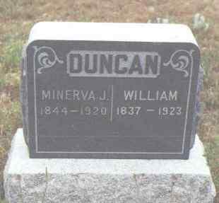 DUNCAN, MINERVA J. - Fremont County, Colorado | MINERVA J. DUNCAN - Colorado Gravestone Photos