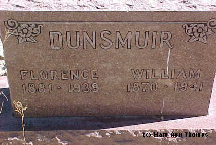 DUNSMUIR, FLORENCE - Fremont County, Colorado | FLORENCE DUNSMUIR - Colorado Gravestone Photos
