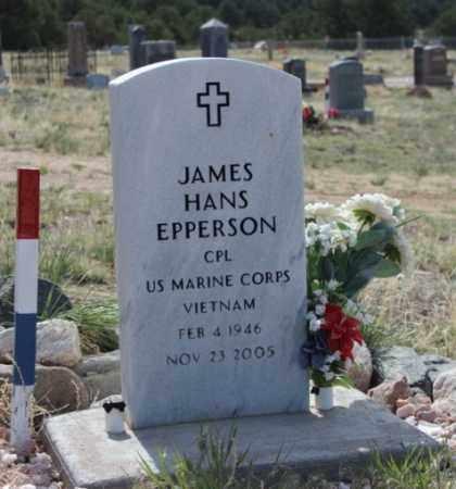 EPPERSON, JAMES HANS - Fremont County, Colorado   JAMES HANS EPPERSON - Colorado Gravestone Photos