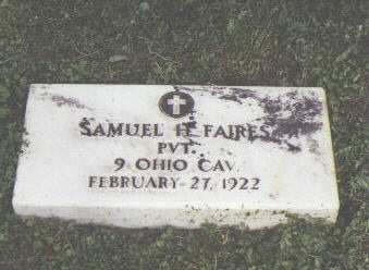 FAIRES, SAMUEL H. - Fremont County, Colorado | SAMUEL H. FAIRES - Colorado Gravestone Photos