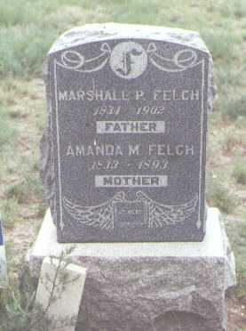 FELCH, MARSHALL P. - Fremont County, Colorado | MARSHALL P. FELCH - Colorado Gravestone Photos