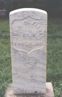 FISHER, JOHN C. - Fremont County, Colorado | JOHN C. FISHER - Colorado Gravestone Photos