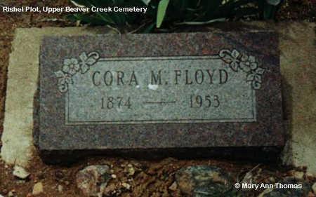 RISHEL FLOYD, CORA M. - Fremont County, Colorado   CORA M. RISHEL FLOYD - Colorado Gravestone Photos