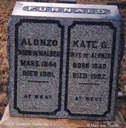FURNALD, KATE G. - Fremont County, Colorado | KATE G. FURNALD - Colorado Gravestone Photos