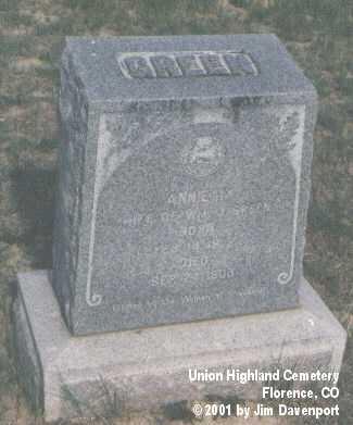 GREEN, ANNIE M. - Fremont County, Colorado | ANNIE M. GREEN - Colorado Gravestone Photos
