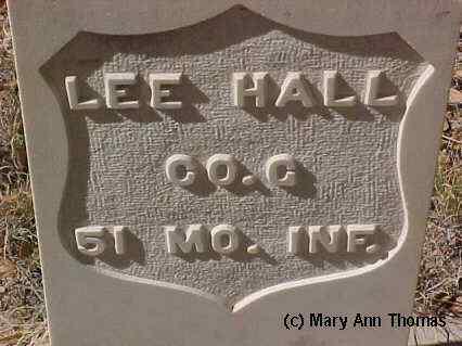 HALL, LEE - Fremont County, Colorado | LEE HALL - Colorado Gravestone Photos