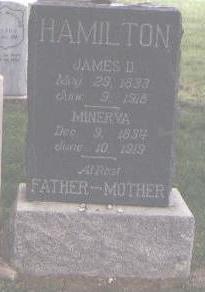 HAMILTON, MINERVA - Fremont County, Colorado   MINERVA HAMILTON - Colorado Gravestone Photos