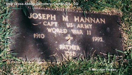 HANNAN, JOSEPH M. - Fremont County, Colorado   JOSEPH M. HANNAN - Colorado Gravestone Photos