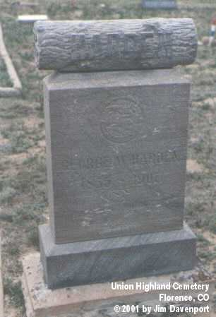 HARDEN, GEORGE W. - Fremont County, Colorado | GEORGE W. HARDEN - Colorado Gravestone Photos