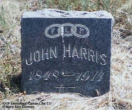 HARRIS, JOHN - Fremont County, Colorado   JOHN HARRIS - Colorado Gravestone Photos