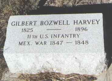 HARVEY, GILBERT BOZWELL - Fremont County, Colorado | GILBERT BOZWELL HARVEY - Colorado Gravestone Photos