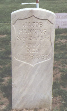 HAWKINS, JACOB - Fremont County, Colorado | JACOB HAWKINS - Colorado Gravestone Photos