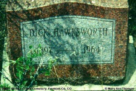 HAWKSWORTH, DICK - Fremont County, Colorado | DICK HAWKSWORTH - Colorado Gravestone Photos