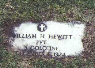 HEWITT, WILLIAM H. - Fremont County, Colorado | WILLIAM H. HEWITT - Colorado Gravestone Photos