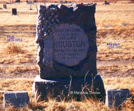 HOUSTON, MARGARET - Fremont County, Colorado | MARGARET HOUSTON - Colorado Gravestone Photos
