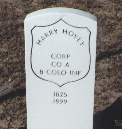 HOVEY, HARRY - Fremont County, Colorado | HARRY HOVEY - Colorado Gravestone Photos