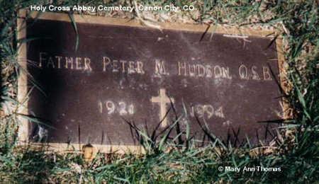 HUDSON, PETER M. - Fremont County, Colorado | PETER M. HUDSON - Colorado Gravestone Photos