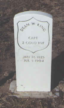 KING, DEAN W. - Fremont County, Colorado | DEAN W. KING - Colorado Gravestone Photos